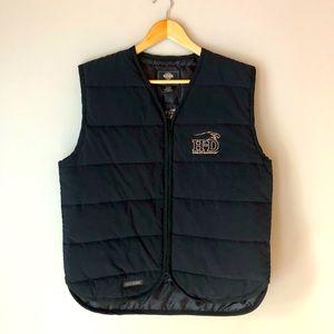 Vintage Harley Davidson insulated vest